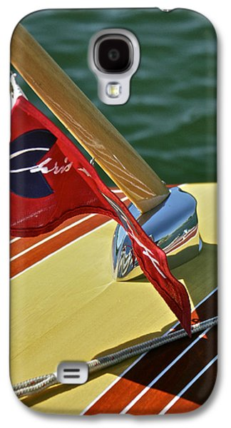 Mahogany Red Galaxy S4 Cases - Chris Craft Classic Galaxy S4 Case by Steven Lapkin