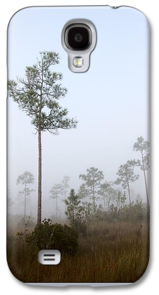 Slash Galaxy S4 Cases - Early morning fog Landscape-5 Galaxy S4 Case by Rudy Umans