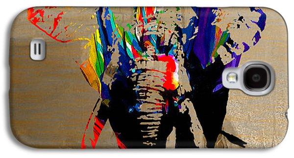Animal Galaxy S4 Cases - Elephant Galaxy S4 Case by Marvin Blaine