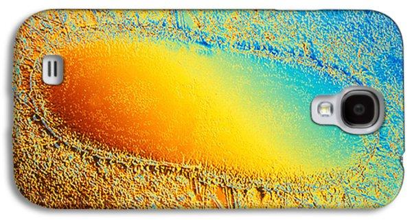 Electron Galaxy S4 Cases - Escherichia Coli Galaxy S4 Case by Scott Camazine