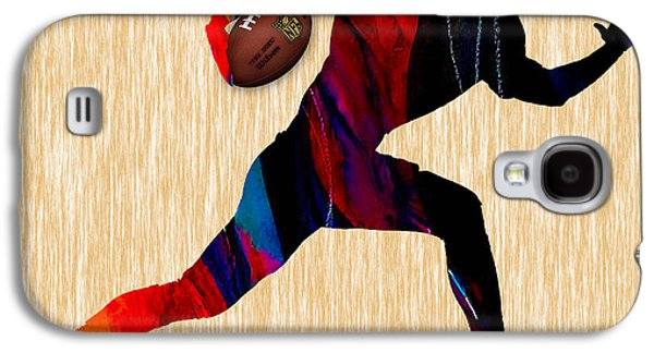 Sport Galaxy S4 Cases - Football Galaxy S4 Case by Marvin Blaine