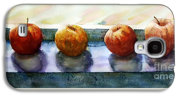 """indoor"" Still Life Paintings Galaxy S4 Cases - 4 Friends Galaxy S4 Case by Marisa Gabetta"