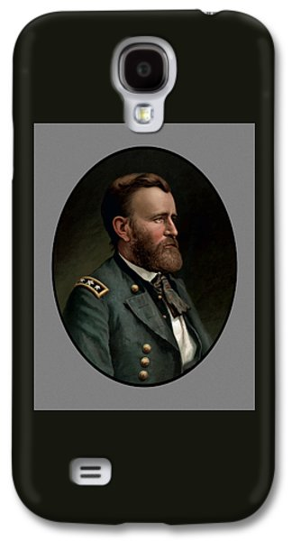 Civil War Galaxy S4 Cases - General Grant Galaxy S4 Case by War Is Hell Store