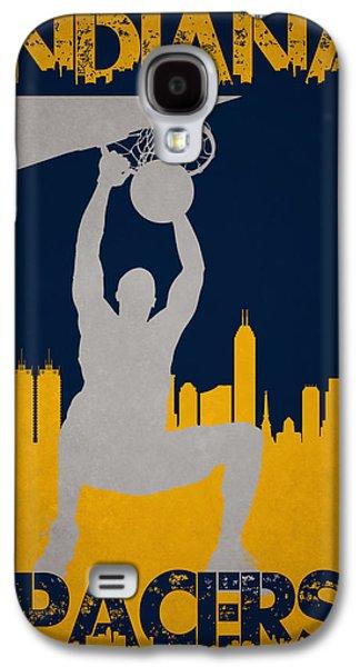 Indiana Pacers Galaxy S4 Case by Joe Hamilton
