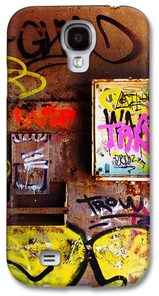 Industrial Background Galaxy S4 Cases - Industrial Detail Galaxy S4 Case by Carlos Caetano