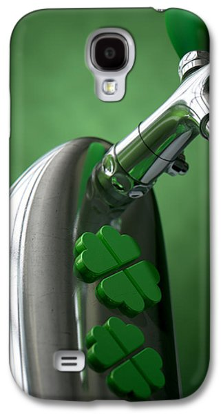 Machinery Galaxy S4 Cases - Irish Beer Tap Galaxy S4 Case by Allan Swart