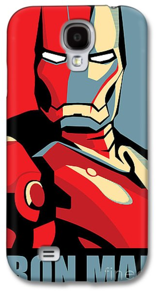 Iron Galaxy S4 Cases - Iron Man Galaxy S4 Case by Caio Caldas