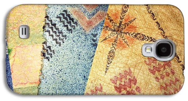 Contemporary Abstract Tapestries - Textiles Galaxy S4 Cases - 4 Kapa Galaxy S4 Case by Dalani Tanahy