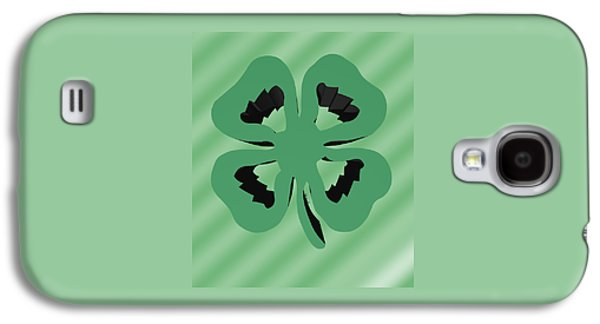 Irish Folklore Galaxy S4 Cases - 4 Leaf Clover  Galaxy S4 Case by Kate Farrant
