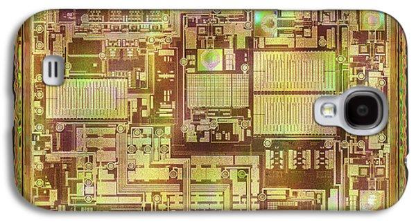 Microchip Galaxy S4 Case by Ktsdesign