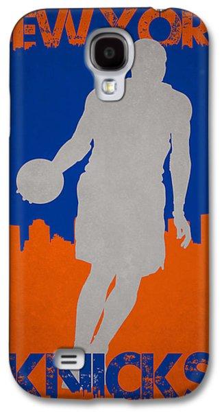 New York Knicks Galaxy S4 Case by Joe Hamilton