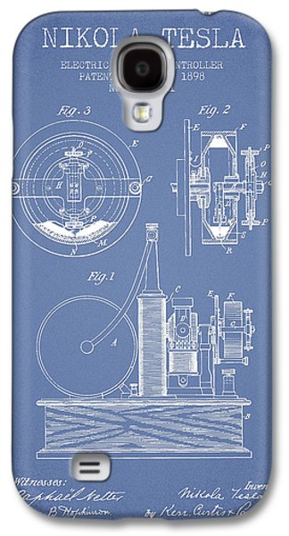 Nikola Tesla Electric Circuit Controller Patent Drawing From 189 Galaxy S4 Case by Aged Pixel