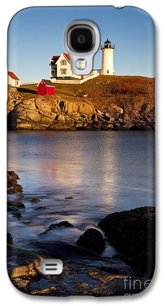 Nubble Lighthouse Galaxy S4 Cases - Nubble Lighthouse Galaxy S4 Case by Brian Jannsen