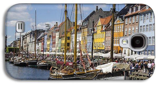 Nyhavn - Copenhagen Denmark Galaxy S4 Case by Jon Berghoff