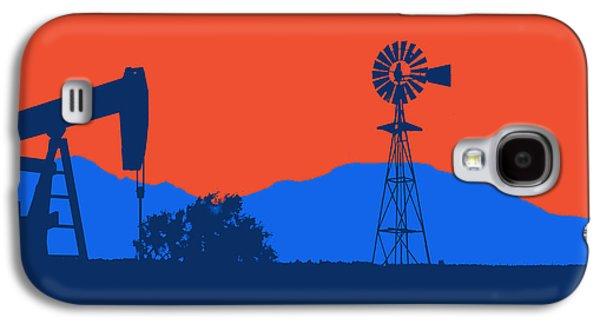 Nba Championship Galaxy S4 Cases - Oklahoma City Thunder Galaxy S4 Case by Joe Hamilton