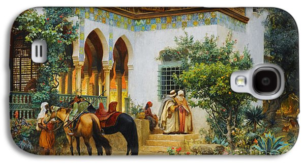 Ottoman Daily Life Scene Galaxy S4 Case by Celestial Images