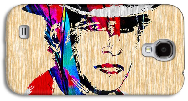 Paul Galaxy S4 Cases - Paul Newman Collection Galaxy S4 Case by Marvin Blaine