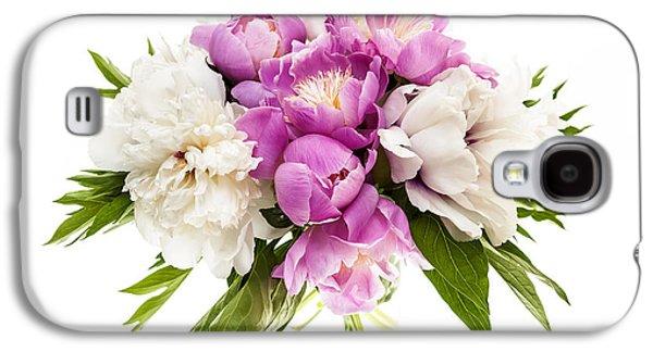Peony Flower Bouquet Galaxy S4 Case by Elena Elisseeva