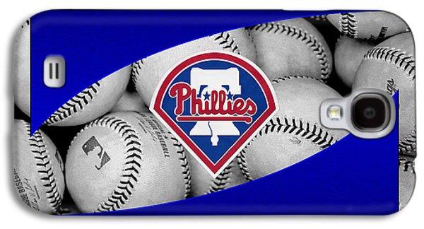 Recently Sold -  - Sports Photographs Galaxy S4 Cases - Philadelphia Phillies Galaxy S4 Case by Joe Hamilton