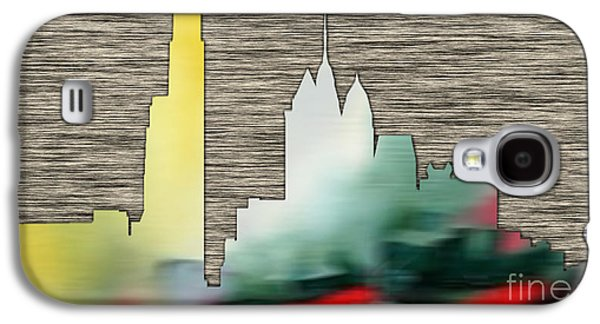 Philadelphia Skyline Galaxy S4 Case by Marvin Blaine
