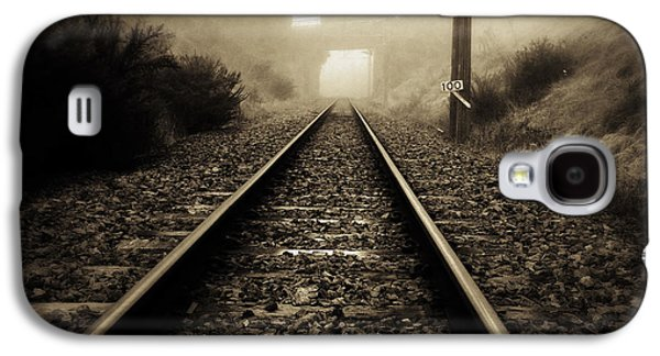 Industry Galaxy S4 Cases - Railway tracks Galaxy S4 Case by Les Cunliffe
