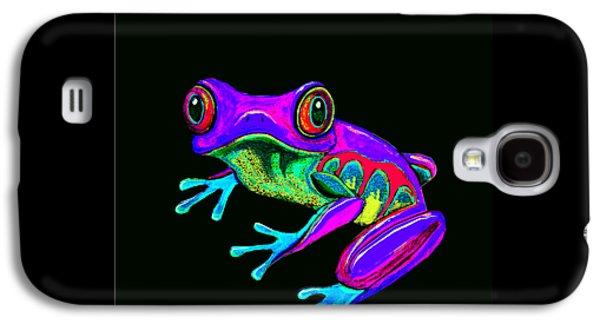 Rainbow Frog Galaxy S4 Case by Nick Gustafson