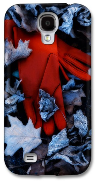 Gloves Galaxy S4 Cases - Red Gloves Galaxy S4 Case by Joana Kruse