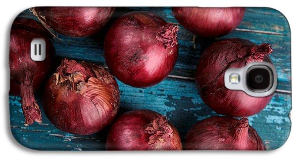 Red Onions Galaxy S4 Case by Nailia Schwarz