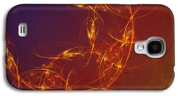 Abstract Digital Photographs Galaxy S4 Cases - 4 Rich Galaxy S4 Case by Edward Fielding