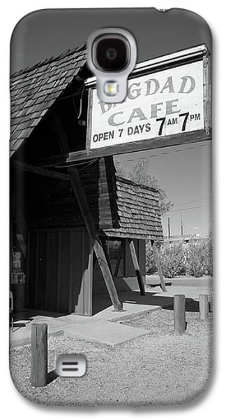 Baghdad Framed Prints Galaxy S4 Cases - Route 66 - Bagdad Cafe Galaxy S4 Case by Frank Romeo