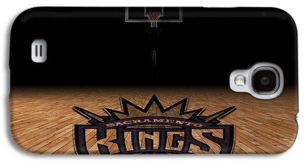 Dunk Galaxy S4 Cases - Sacramento Kings Galaxy S4 Case by Joe Hamilton