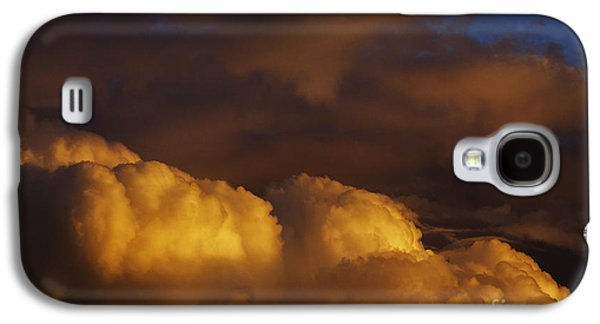 Colorful Cloud Formations Galaxy S4 Cases - Sky Drama Galaxy S4 Case by Thomas R Fletcher
