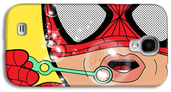 Spiderman  Galaxy S4 Case by Mark Ashkenazi