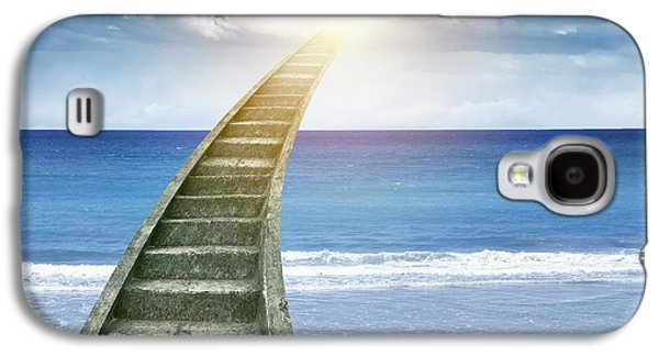 Concept Photographs Galaxy S4 Cases - Stairway to heaven Galaxy S4 Case by Les Cunliffe
