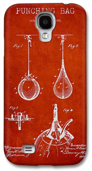 Punching Galaxy S4 Cases - Striking Bag Patent Drawing from1891 Galaxy S4 Case by Aged Pixel