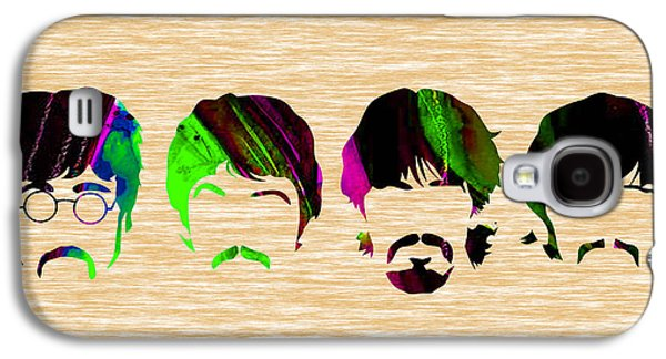 Beatles Galaxy S4 Cases - The Beatles Collection Galaxy S4 Case by Marvin Blaine