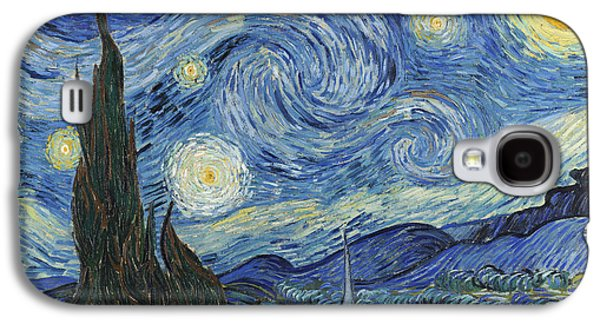 Starry Paintings Galaxy S4 Cases - The Starry Night Galaxy S4 Case by Vincent Van Gogh