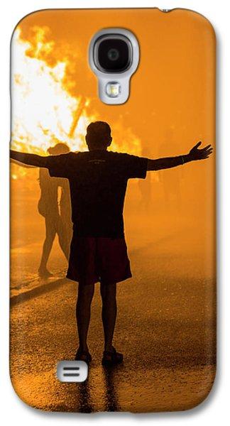 Usa, Massachusetts, Cape Ann, Rockport Galaxy S4 Case by Walter Bibikow