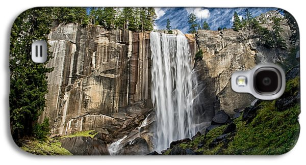 Cloudy Day Galaxy S4 Cases - Vernal Falls Galaxy S4 Case by Cat Connor