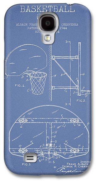 Vintage Basketball Goal Patent From 1944 Galaxy S4 Case by Aged Pixel