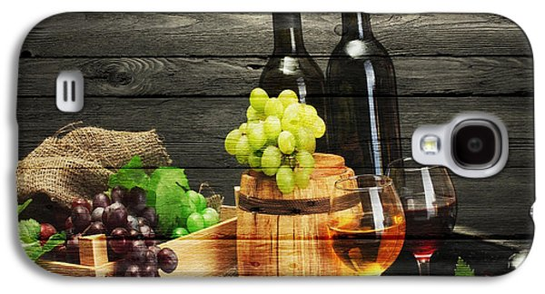 Napa Valley Vineyard Galaxy S4 Cases - Wine Galaxy S4 Case by Joe Hamilton