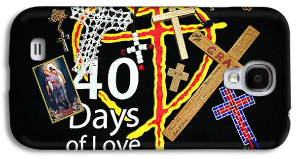 Atonement Galaxy S4 Cases - 40 Days of Love Galaxy S4 Case by Reid Callaway