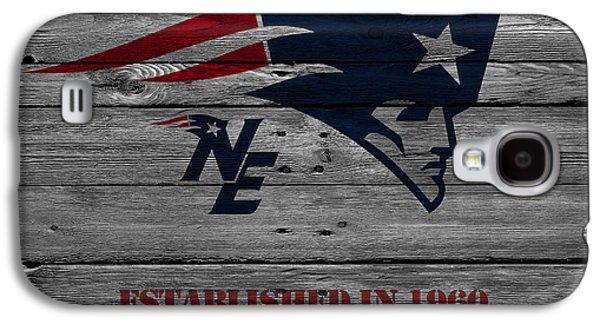 Presents Galaxy S4 Cases - New England Patriots Galaxy S4 Case by Joe Hamilton