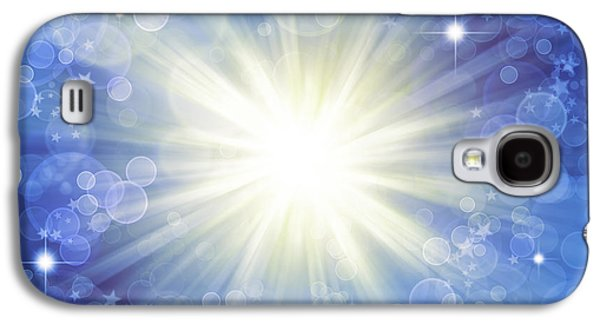Exploding Galaxy S4 Cases - Abstract background Galaxy S4 Case by Les Cunliffe