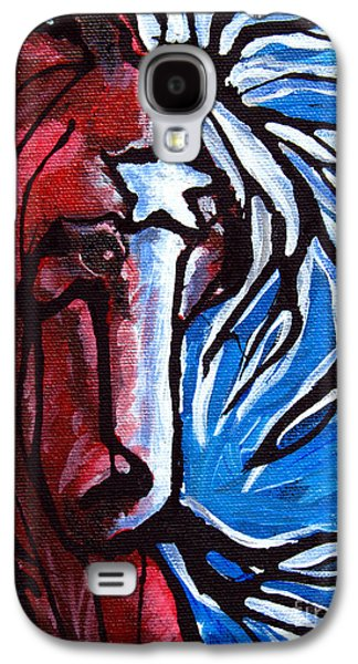 Independence Day Paintings Galaxy S4 Cases - #43 July 4th Galaxy S4 Case by Jonelle T McCoy