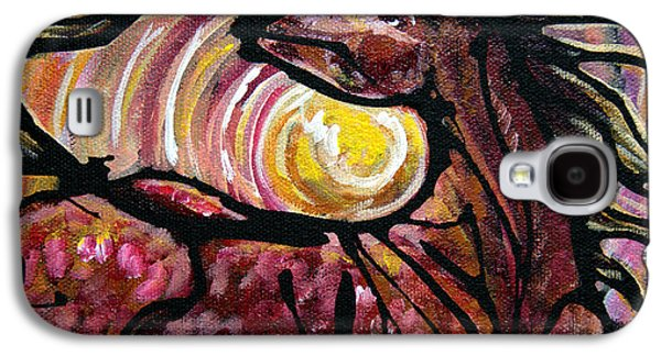 Sun Rays Paintings Galaxy S4 Cases - #46 July 7th Galaxy S4 Case by Jonelle T McCoy