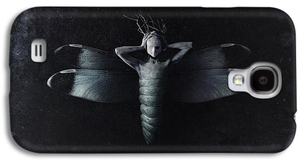 The Moth Galaxy S4 Case by Victor Slepushkin