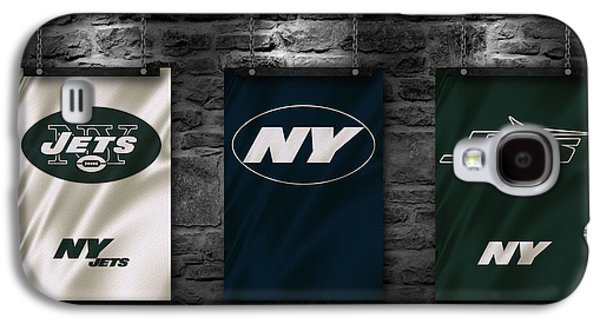 New York Jets Galaxy S4 Cases - New York Jets Galaxy S4 Case by Joe Hamilton