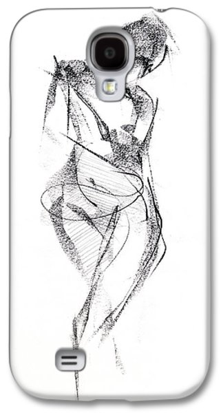 Black And White Galaxy S4 Cases - RCNpaintings.com Galaxy S4 Case by Chris N Rohrbach
