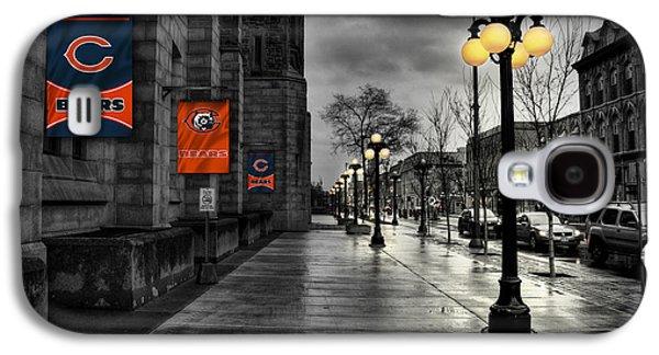 Main Street Galaxy S4 Cases - Chicago Bears Galaxy S4 Case by Joe Hamilton